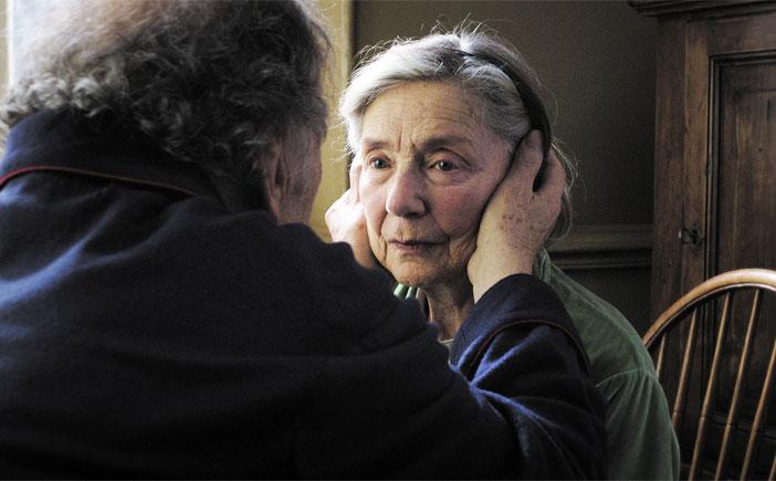 Pareja de ancianos de la película Amour