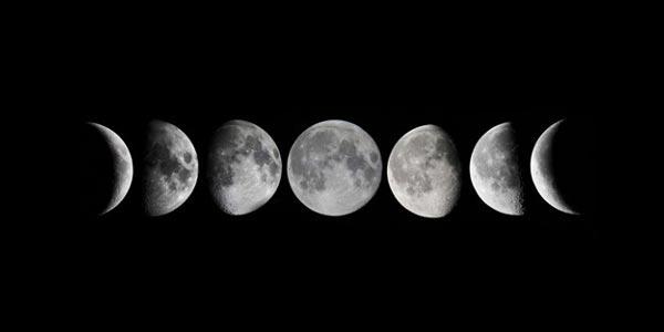 Las fases lunares afectan energéticamente