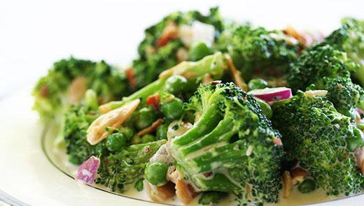 Ensalada gourmet de brócoli