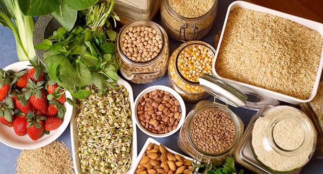 Fuentes de proteínas vegetales